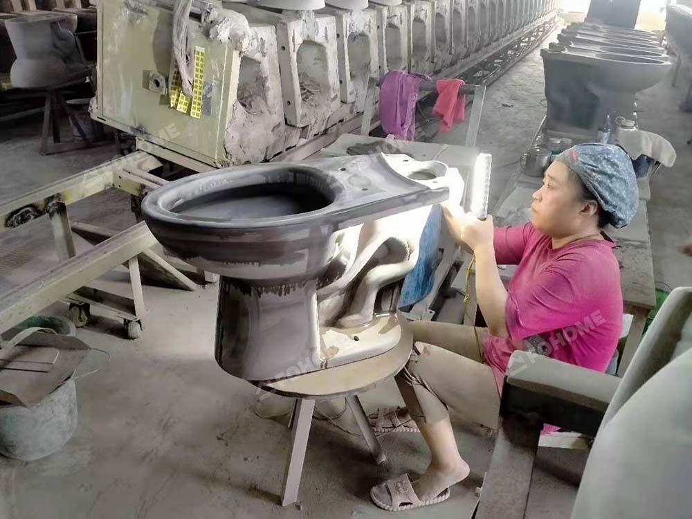 toilet drying