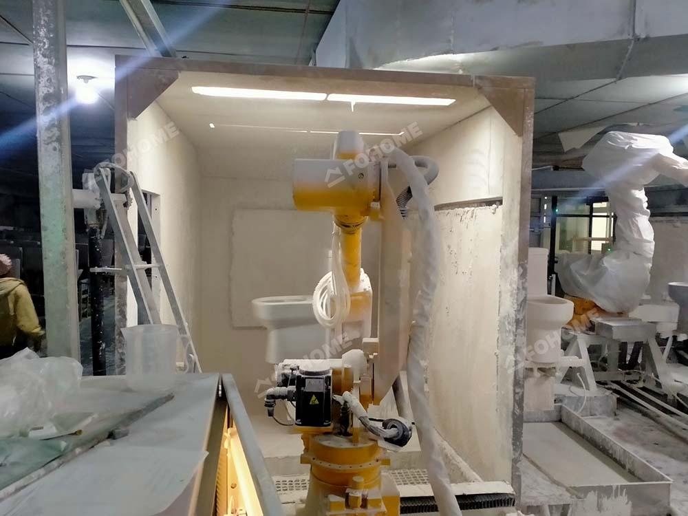robot glazing