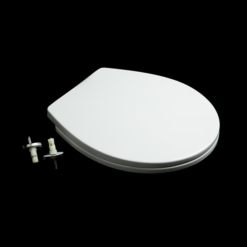 round toilet seat cover